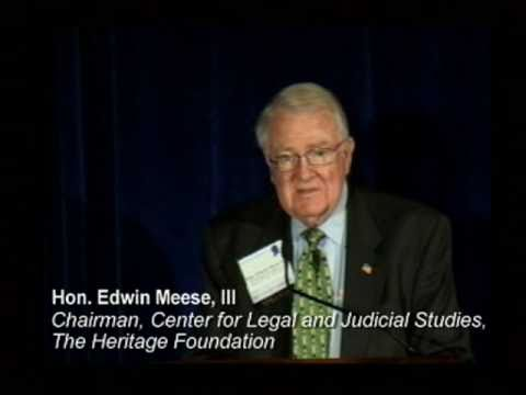 Expansion of Federal Criminal Power: Too Much or Too Little? 11-18-10