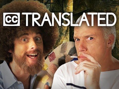 [TRANSLATED] Bob Ross vs Pablo Picasso. Epic Rap Battles of History. [CC]