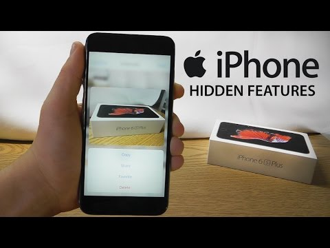 iPhone 6S Hidden Features – Top 10 List