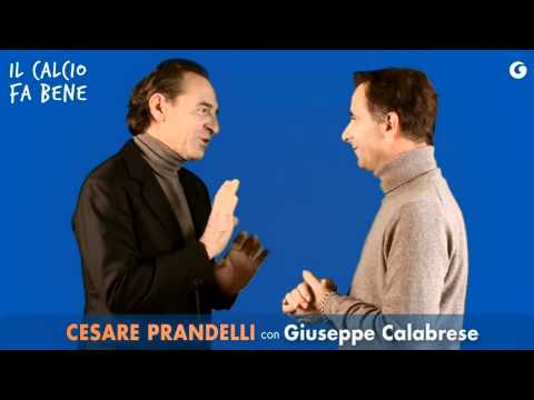 """""""Il calcio fa bene"""" di Cesare Prandelli, con Giuseppe Calabrese"""