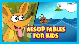Aesop Fables For Children | Best Moral Stories For Kids | One Hour English Stories