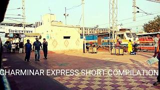 Chennai Hyderabad Charminar Express Short Journey Compilation