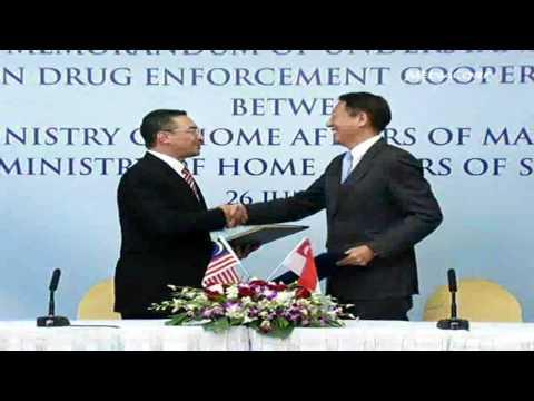 Singapore, Malaysia enhance cooperation against drug trafficking