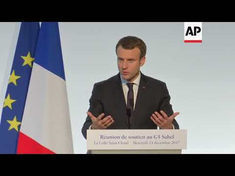Macron says smuggling network must be dismantled