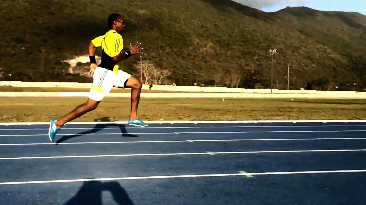 Yohan Blake Abs Yohan Blake 60m sprints 2014