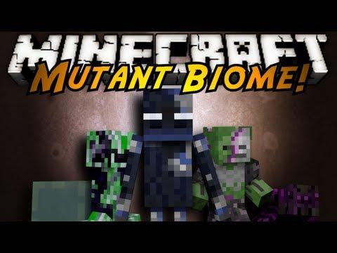 Minecraft Mod Showcase : MUTANT BIOME!