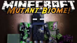 Minecraft Mod Showcase : MUTANT BIOME!