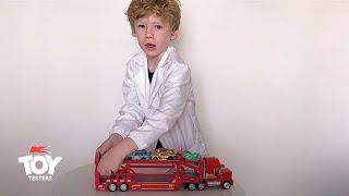Toy Tester Review: Disney Pixar Cars Launching Mack Transporter