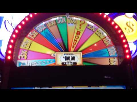 $100 Super Monopoly Money Wheel Spin