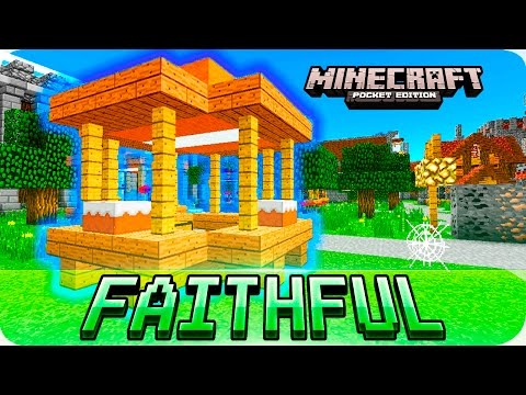 Minecraft PE - FAITHFUL 32x32 Texture Pack with Download - iOS & Android 1.0.3 / 1.0 MCPE
