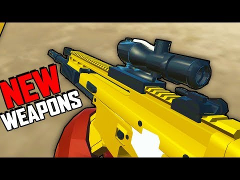 NEW EPIC Weapons!  Brand New Update!  (Ravenfield Gameplay - Beta Early Access)