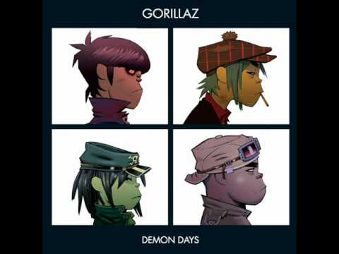 Gorillaz Dirty Harry {instrumental}