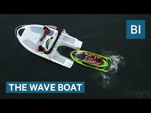 This Boat Is Powered By Your Jet Ski