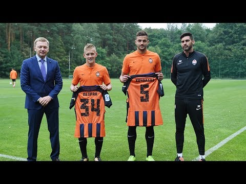Shakhtar introduced the newcomers
