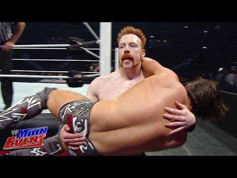 Sheamus Vs. The Miz: Wwe Main Event, April 1st, 2014 video