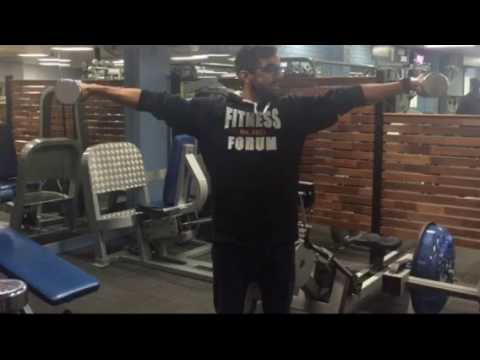 Fitness Forum 2016 Olympics Crucifix Hold