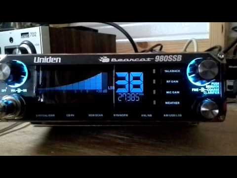 Try  out  new Uniden Bearcat 980 on ssb