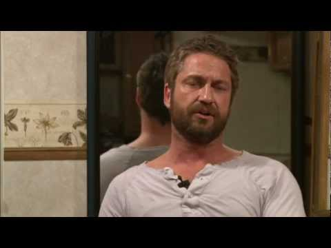Coriolanus: Gerard Butler On Set Interview [HD]
