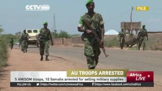 AU troops arrested in Somalia