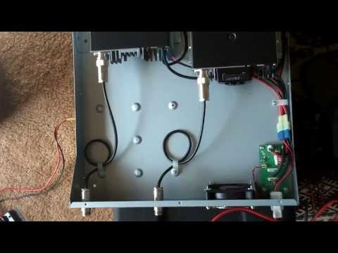 Coax Jumper Mod on K9RRD ID-RP400 D-STAR Repeater Module 2of4