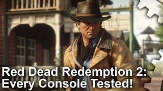 Red Dead Redemption 2: PS4/PS4 Pro vs Xbox One/Xbox One X - Every Console Tested!