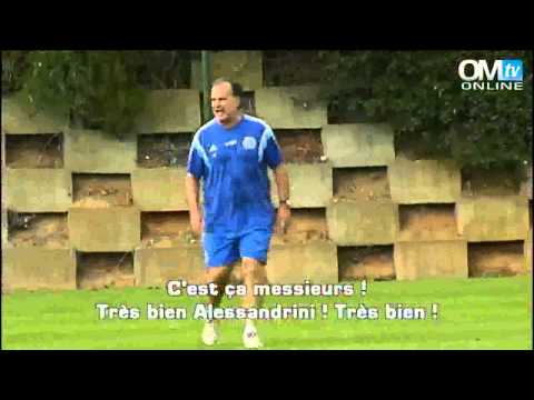 Marcelo Bielsa during OM Training