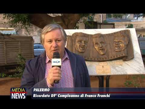 Palermo, 89 anni fa nasceva il grande comico Franco Franchi: un raduno per ricordarne la memoria