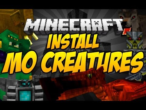 [1.7.2] How to Install the Mo' Creatures Mod | Best Simple Tutorial [HD] [Mac]