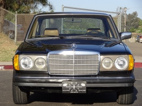 Mercedes Benz 300D W123 Diesel Sedan 240D Non Turbo 300 240 Bio Youngtimer Video Review