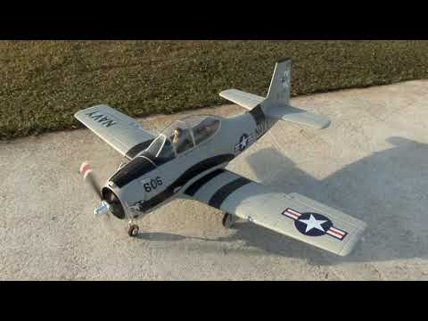 FMS T-28 Trojan (EPO) R/C Electric Warbird 1400mm