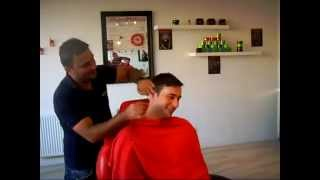 """The Full Works"" @ The Turkish Barber - Turkish Shave, Haircut, Massage (ASMR)"
