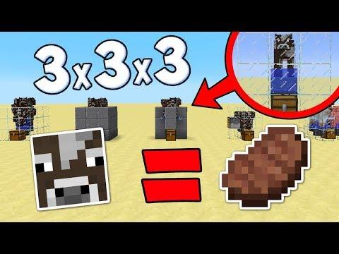 ФЕРМА ЖИВОТНЫХ 3на3на3 БЛОКА В МАЙНКРАФТЕ! САМАЯ МАЛЕНЬКАЯ И ПРОДУКТИВНАЯ ФЕРМА ЖИВОТНЫХ В Minecraft