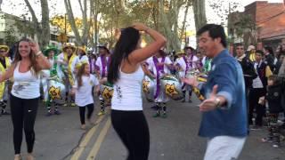Comparsa La Gozadera - Llamadas Otoñales 2015 - Candombe TV