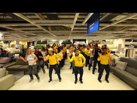IKEA co-workers celebrate in style