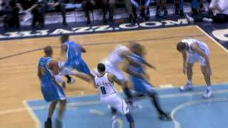 Chris Paul Steal And Match Win By Hornets