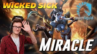 Miracle Wicked Sick QoP | Dota 2 TOP MMR