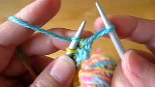 Knitting How To Cast On Stitches At The End Of A Row : KNITTING HOW-TO: Cast On Stitches at End of Row. ????? ??????? ?? ?????