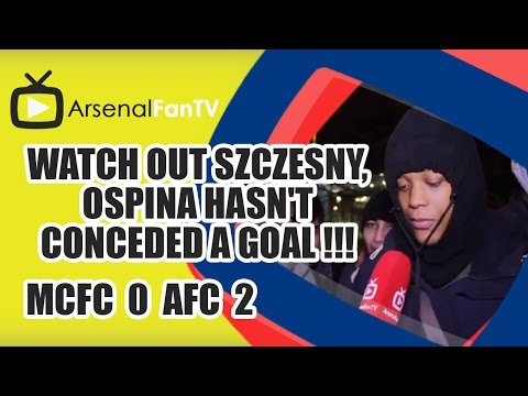 Watch out Szczesny, Ospina hasn't conceded a Goal !!! - Man City 0 Arsenal 2