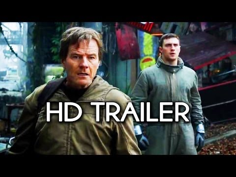 Godzilla -- Official HD Trailer (Commentary & Review)