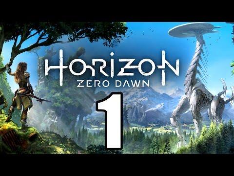 HORIZON ZERO DAWN Gameplay German - 1 - DIE AUSGESTOßENE | Let's Play Deutsch