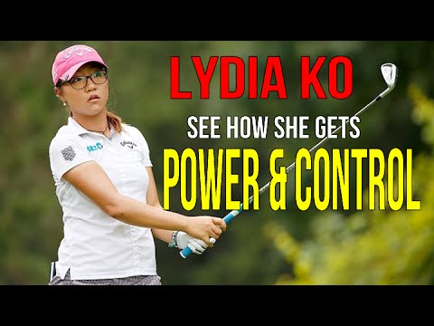 Lydia Ko - Golf Swing with awesome power and control (RST Instructor Chris Tyler