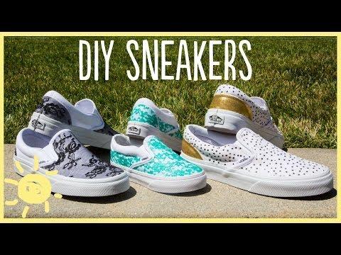 DIY | Sneakers (Cute and Easy!!)