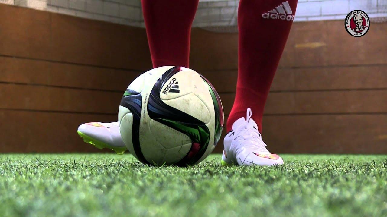 Как сделать мощнее удар по мячу