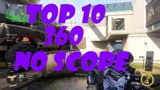 Black ops 3 top 10 360 no scope