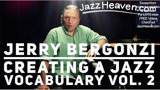 """How to Play Jazz"" - *Jerry Bergonzi* Green Dolphin Street Changes Three-Note Shapes JazzHeaven.com"