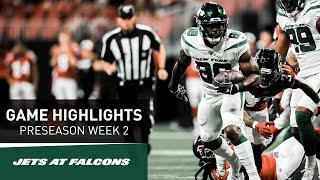 Highlights: New York Jets At Atlanta Falcons | Preseason Week 2 | NFL