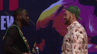 Tyson Fury and Deontay Wilder come together for their rematch press conference