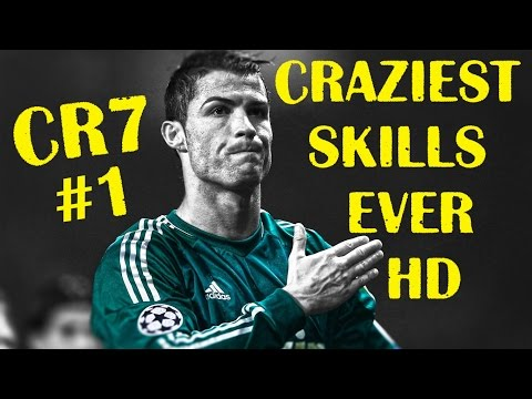 Cristiano Ronaldo - Craziest Skills Ever - HD - Compilation Part #1