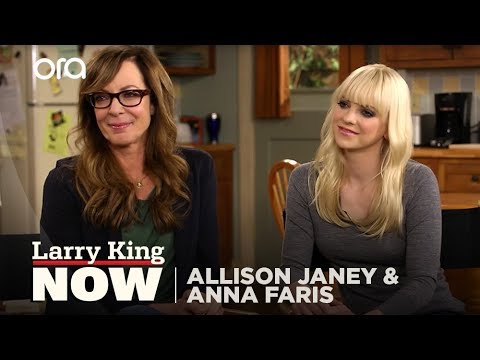 Allison Janney and Anna Faris on
