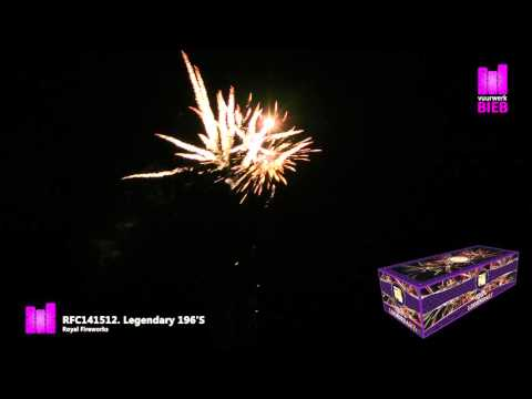 Legendary 196'S - Royal Fireworks - vuurwerkbieb.nl